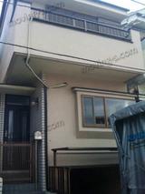 商店街沿いマンションからの単身引越し[2] 一戸建て吊り作業
