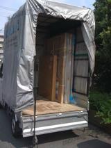 アンティーク調家具のある引越し[3]搬出、搬入作業