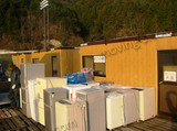 「東日本大震災」支援物資の運搬の模様