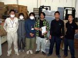 「東日本大震災」支援物資の運搬の模様 2