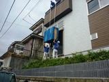 箪笥(タンス・家具)の吊り上げ作業