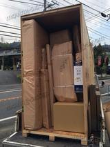 アメリカ カリフォルニア州への引越し:梱包・積み込み