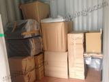 水漏が原因のリフォーム工事に伴い荷物を一時保管