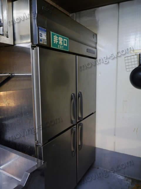 600L以上ある業務用の冷蔵庫