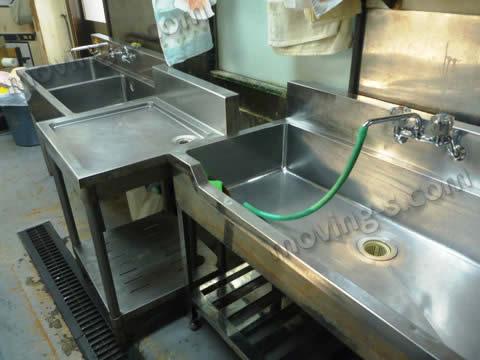 水回りの厨房機器